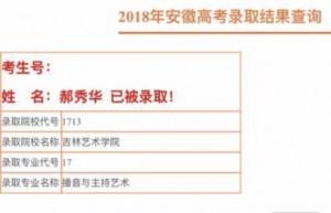 2018安徽李家军录取喜报29号